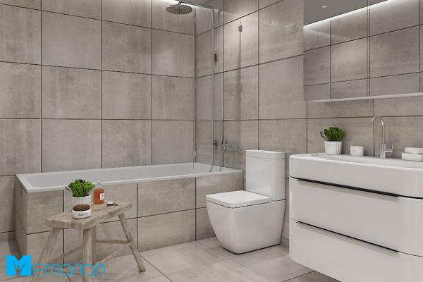 دکوراسیون حمام مدرن شیک 2019