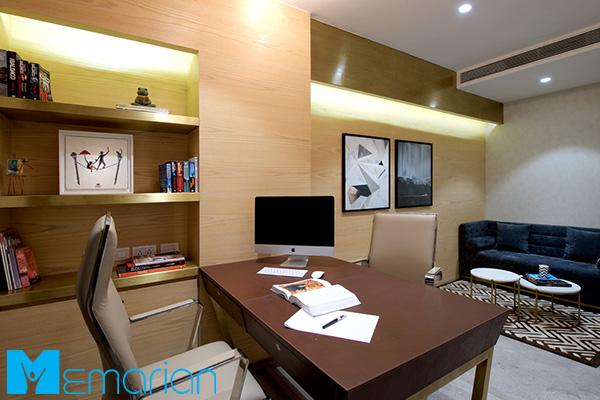 طراحی دکوراسیون داخلی اتاق مدیریت