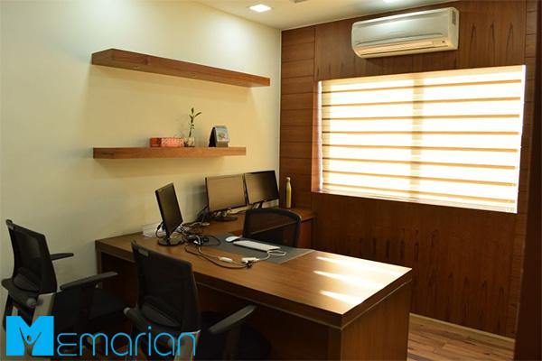 نورپردازی اتاق مدیریت