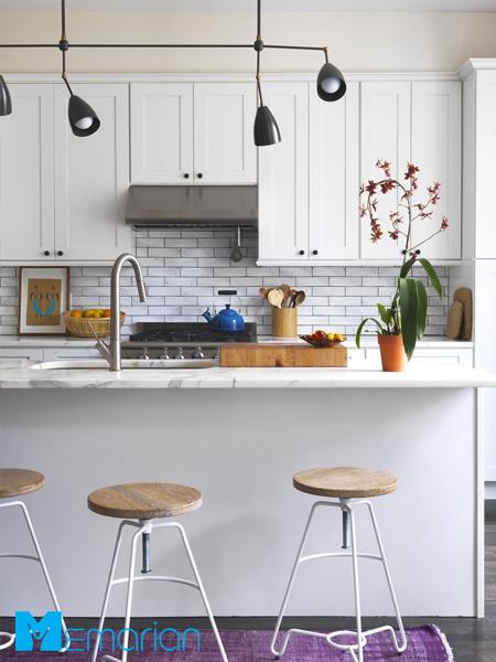 استفاده از تمام فضای آشپزخانه کوچک