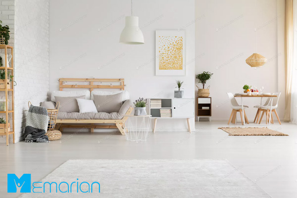 رنگ دیوارها به اتاق پذیرایی خانه شما شخصیت می بخشند