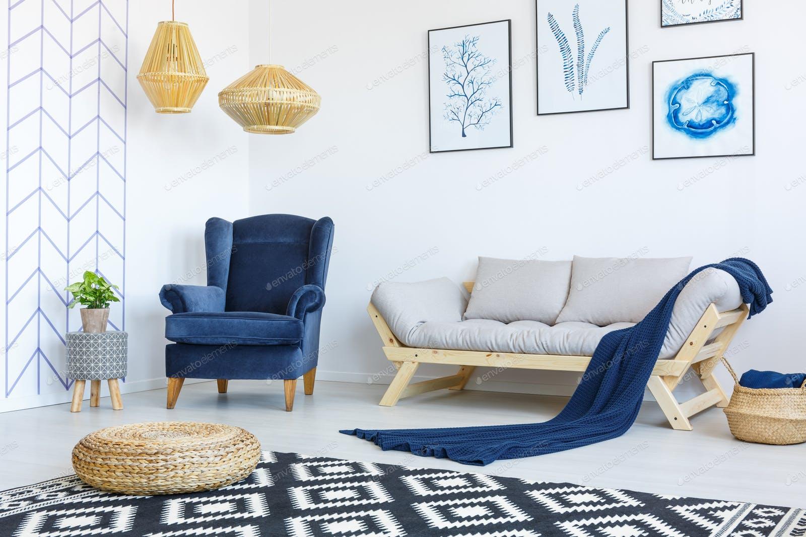 اتاق پذیرایی شیک و دوست داشتنی در خانه های امروزی
