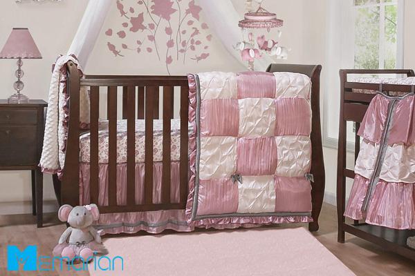 تخت خواب کودک صورتی دخترانه