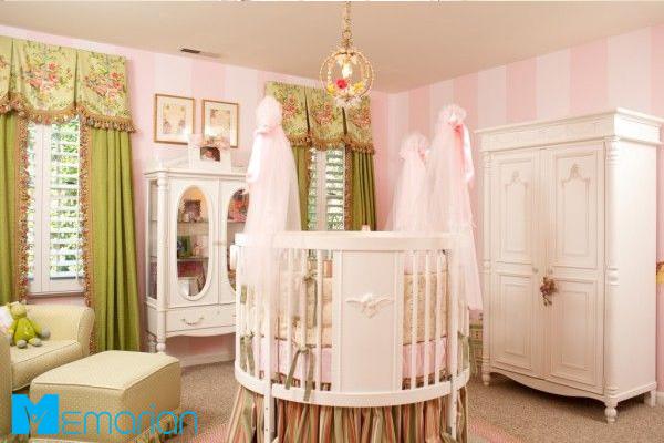 تخت خواب دایره ای اتاق کودک