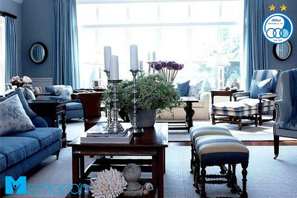 خانه آبی رنگ مخصوص استقلالی ها
