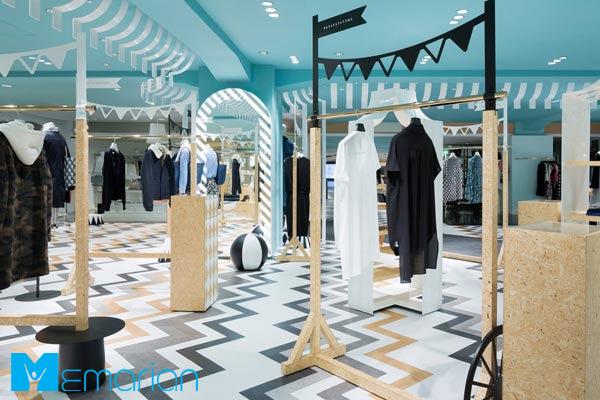 نورپردازی در طراحی مغازه مدرن
