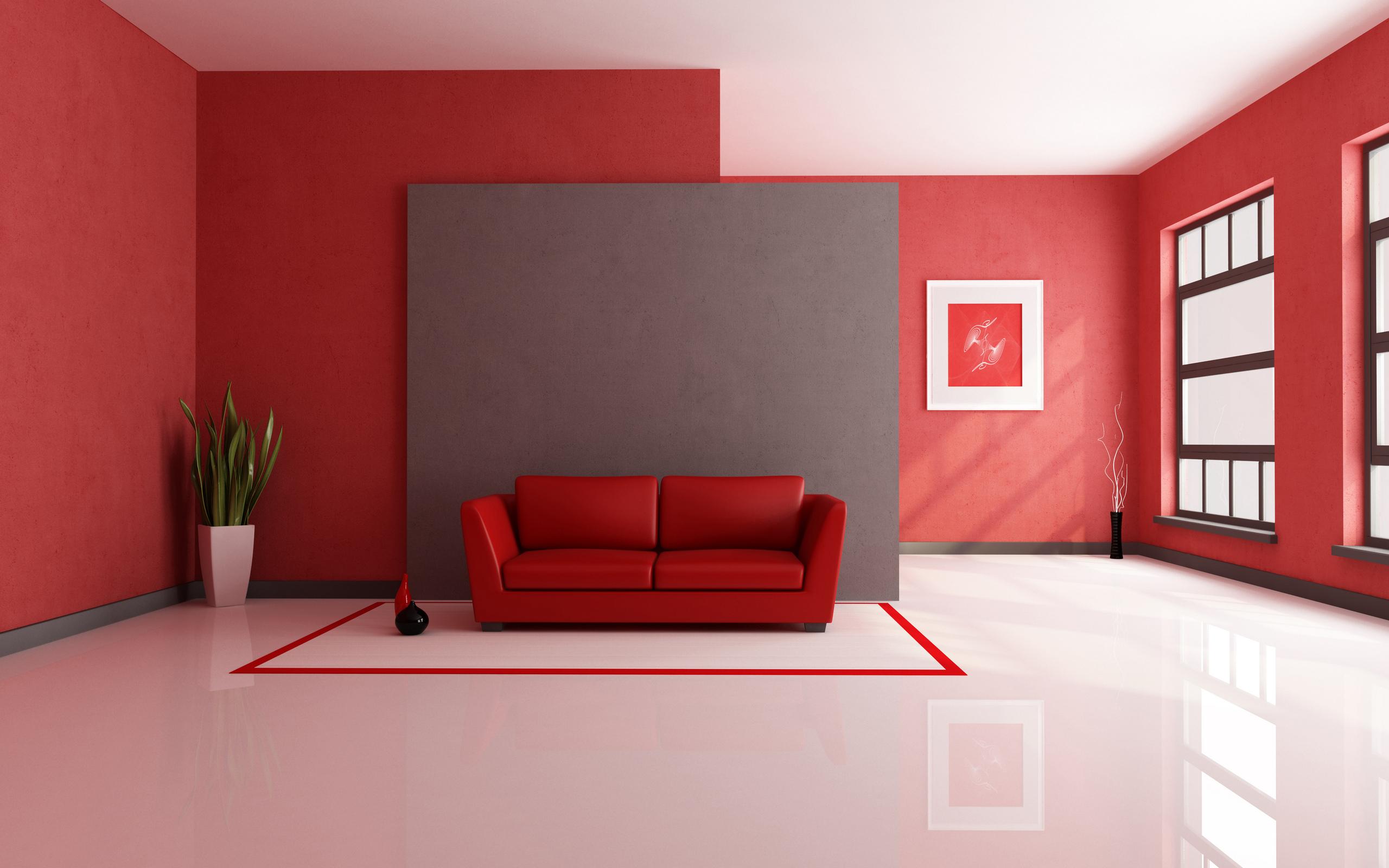 طراحی دکوراسیون داخلی خانه قرمز پرسپولیسی