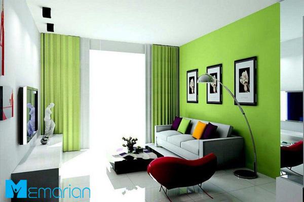 روانشناسی رنگ سبز در دکوارسیون داخلی و معماری