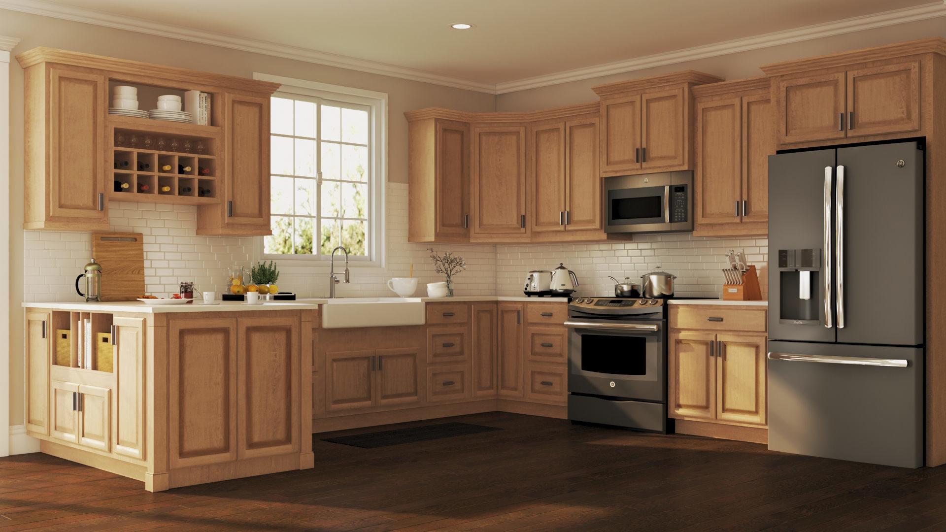 راهنمای انتخاب بهترین رنگ بندی کابینت آشپزخانه
