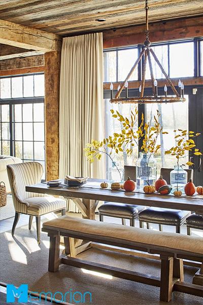 با اضافه کردن عناصر تازه، اتاق ناهارخوری تان را زنده نگه دارید!
