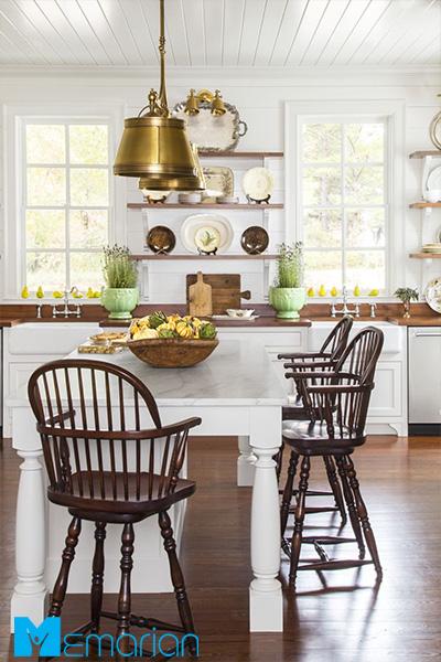 آشپزخانه در دکوراسیون فصل پاییز