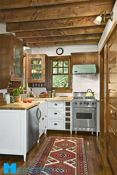 فضای آشپزخانه تان را پاییزی کنید