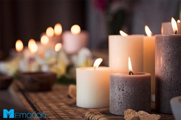 از عطرها و عناصر رمانتیک جذاب استفاده نمایید