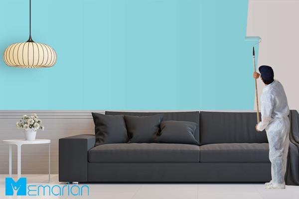 رنگ آمیزی مجدد فضای خانه