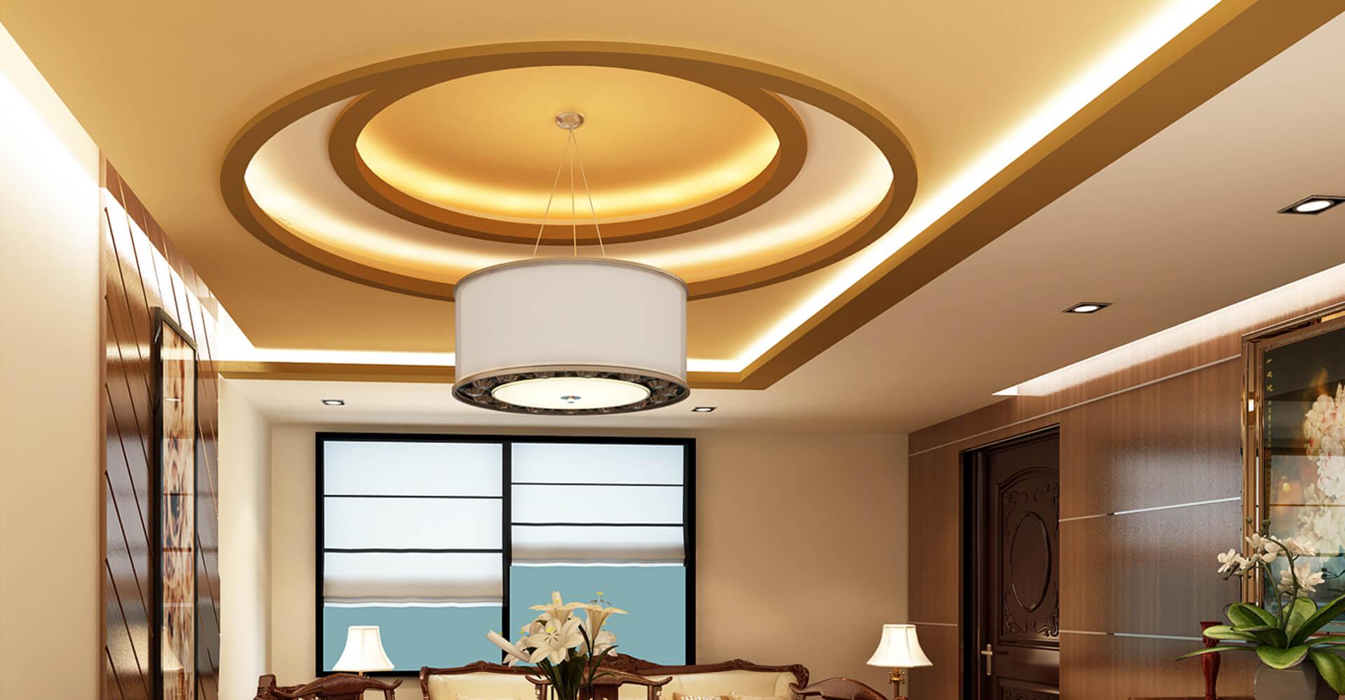تاثیر سقف در منزل و معرفی انواع سقف در طراحی داخلی
