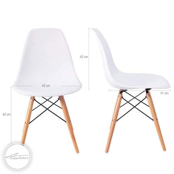 صندلی پلاستیکی مدرن کد SM203