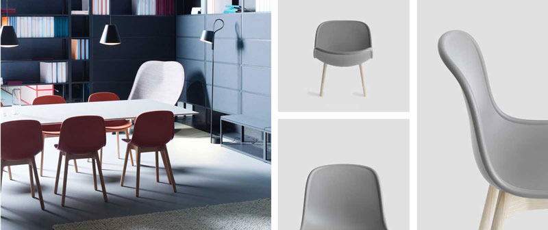 طراحی شکل ظاهری صندلی مدرن