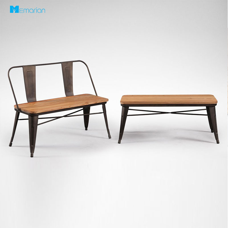 صندلی فلزی و چوبی MB200