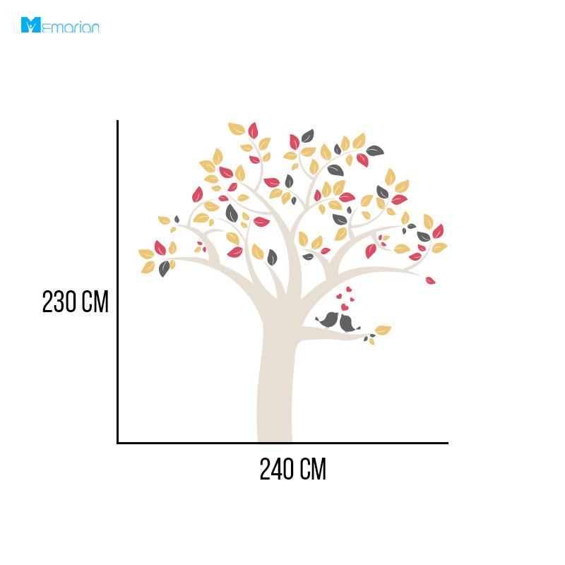 استیکر دیواری درخت فانتزی