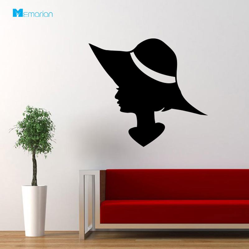 برچسب دیواری کلاه
